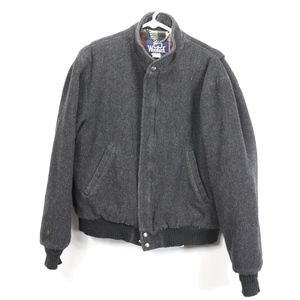 Vintage 70s Woolrich Mens Medium Bomber Jacket